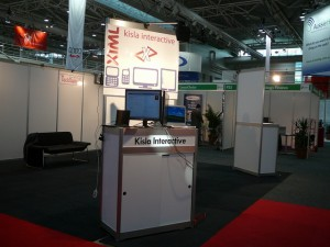 kisla interactive stand